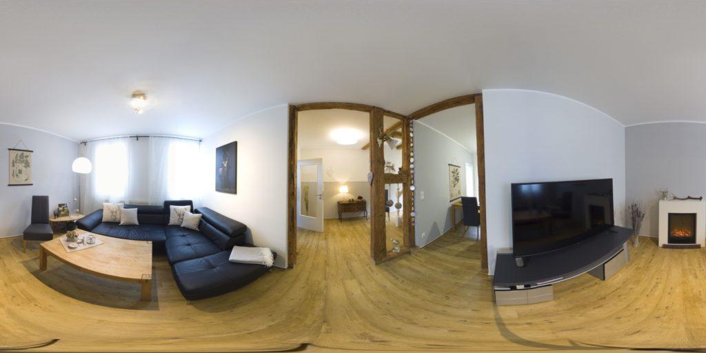 360 Grad Rundgang Ferienhaus Anno 1800 im zentrum von Wernigerode