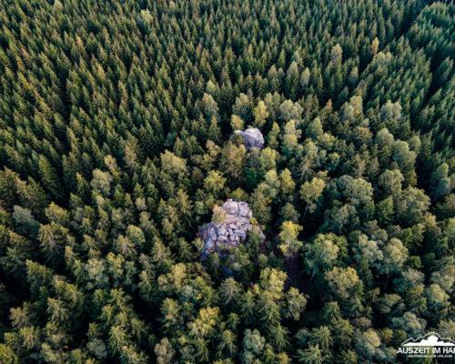 Schnarcherklippen nahe Schierke
