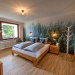 1. Schlafzimmer Ferienwohnung Braunlage